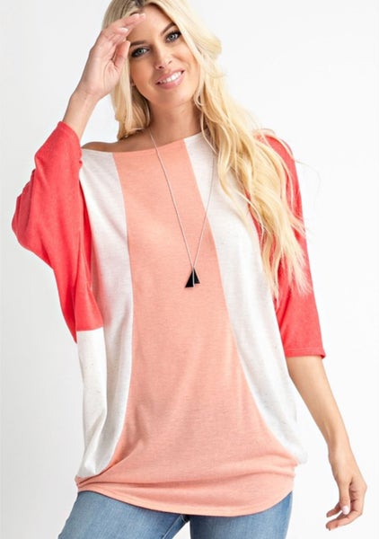 About Time Color Block Top