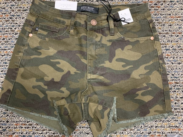 Judy Blue Combat Ready Cut Off Shorts