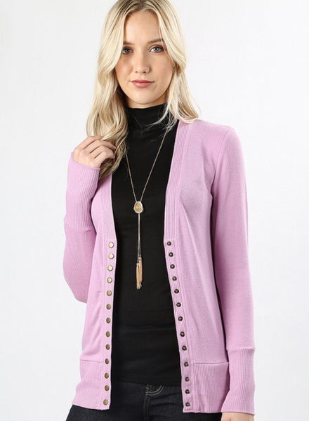 Business or Casual Snap Cardi