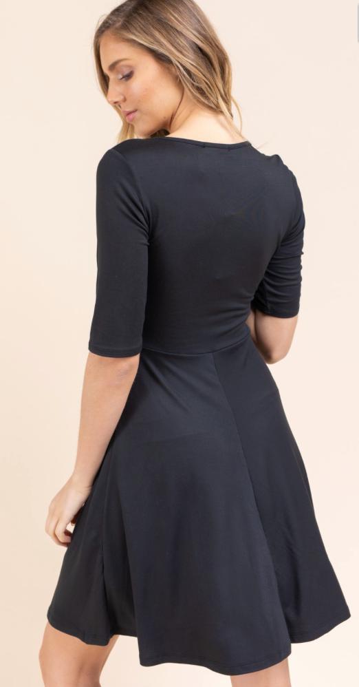 Be Happy Black Dress