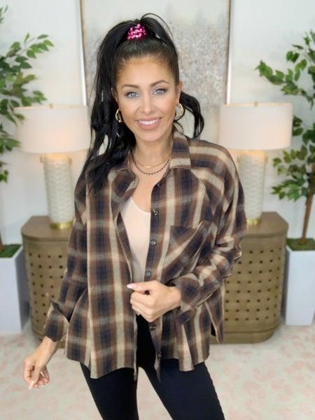 Rodeo Spotlight Flannel Top