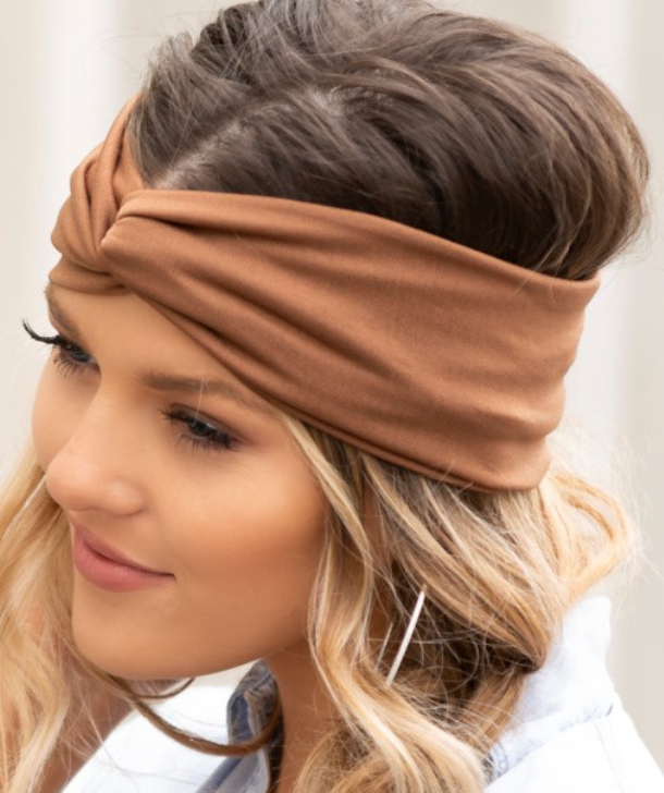 Solid Jersey Knit Headwraps - 3 Colors!