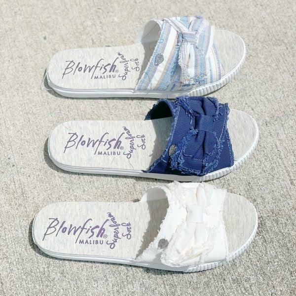 Blowfish Fondue Sandals - 3 Colors!