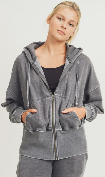 Natural And Knowing Hoodie Jacket - 2 Colors!