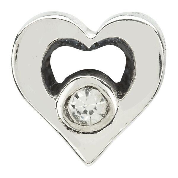 Chamilia Jeweled Heart Charm
