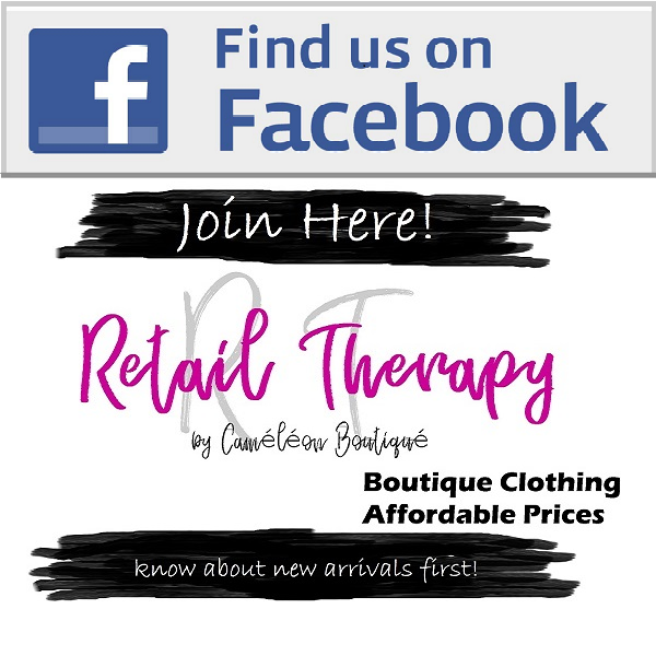 Join Facebook VIP Group - Retail Therapy