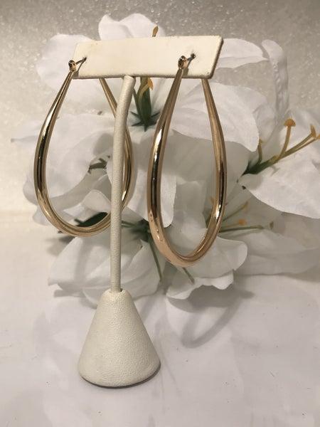 Bent Hoop Earrings