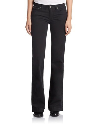 Free People 5 Pocket Jeans Black