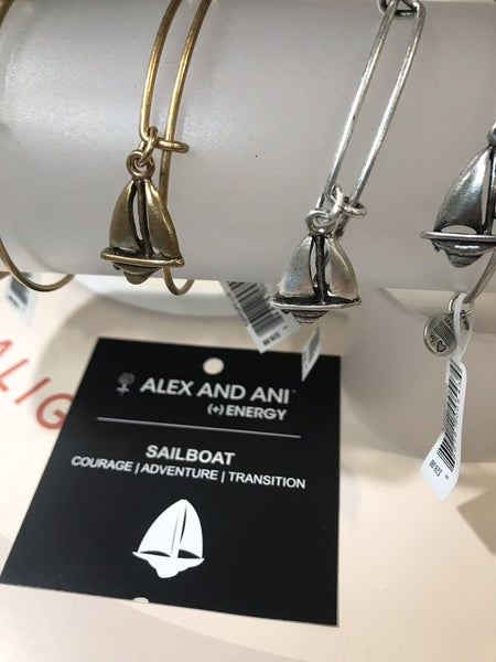 Alex and Ani Sailboat