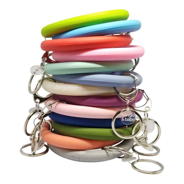 Bangle and Babe Silicone Key Ring
