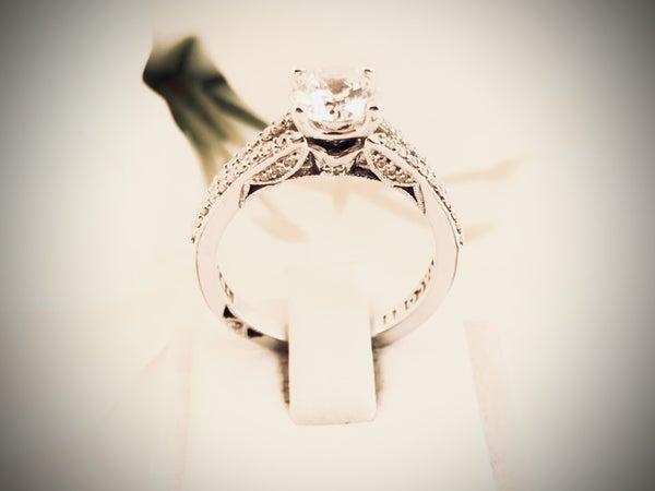 TACORI Diamond Engagement Wedding Ring Setting 18kw