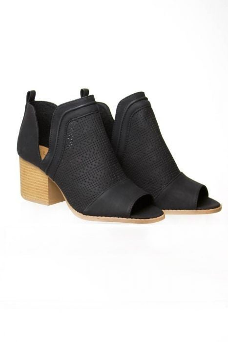 Perforated Booties