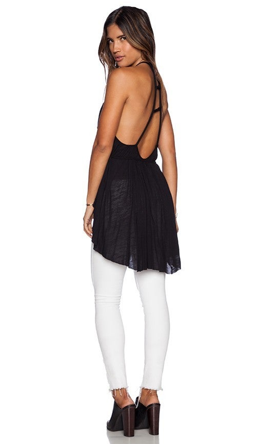 Free People 'Double Dutch' Strappy Tunic