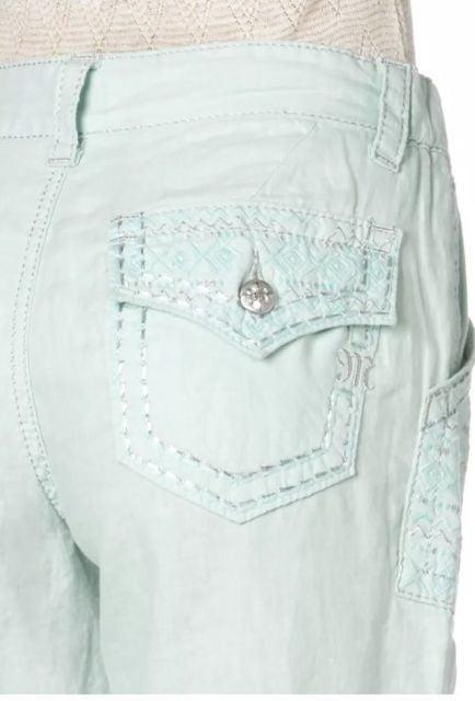 Miss Me Drawstring Linen Pants