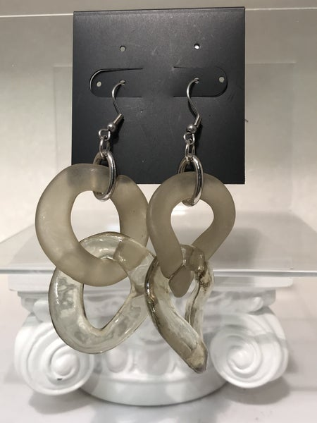 Costume Double Hoop Earrings