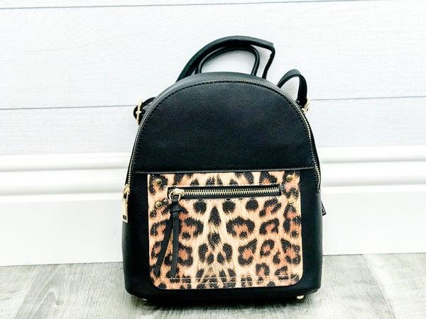 Leopard Backpack