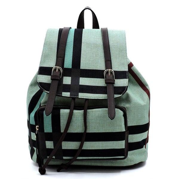 Stylish Color Block Fashion Backpack