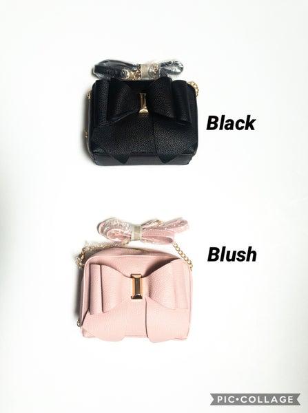 Small Cross-Body Bow Bag