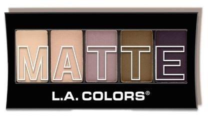 L.A. Colors Matte Eyeshadow
