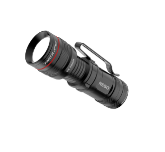 360 LUX LED Flashlight with Steel Belt Clip