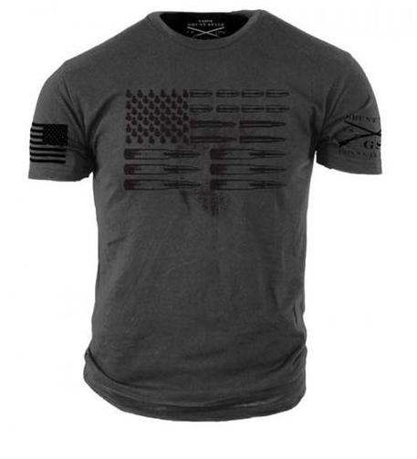 Grunt Style Ammo Flag Men's Graphic T
