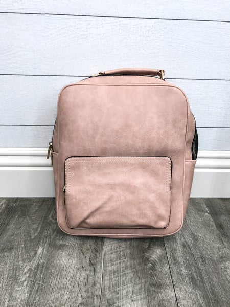 Convertible Backpack with Trolley Sleeve