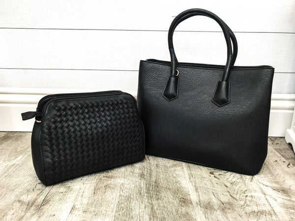 2 in 1 Bag and Cross body Set