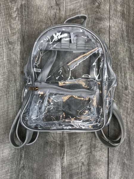 Clear Colored Backpack