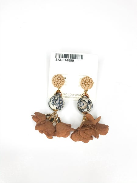 Triple Layer Earrings