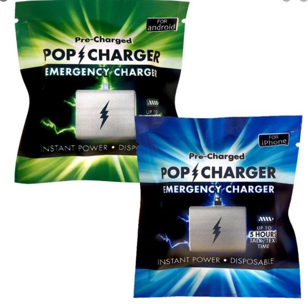 Pre-Charged POP Emergency Charger