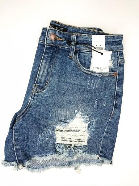 Judy Blue Destroy Cut Off Shorts