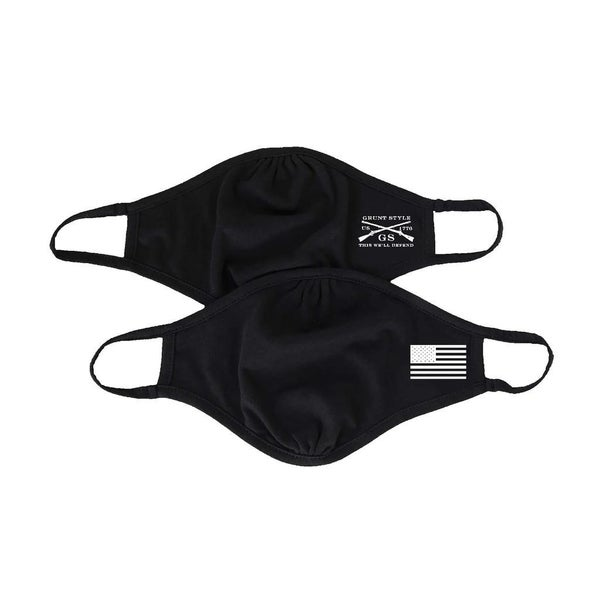 GRUNT STYLE 2-PACK REVERSIBLE FACEMASK - ASSAULTING FLAG