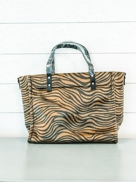 Tiger Detailed Handbag