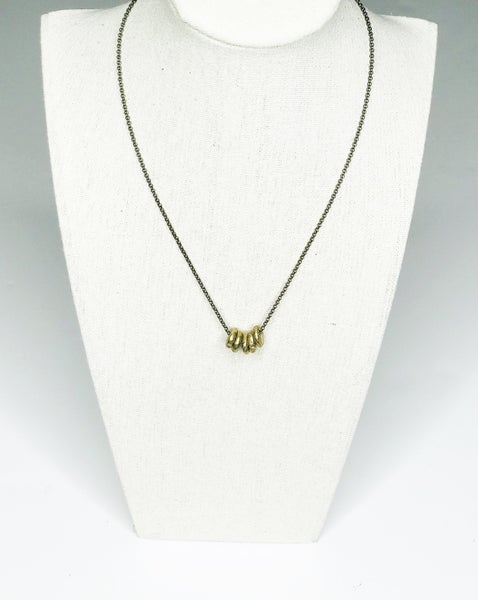 Necklace Chain With Hoops
