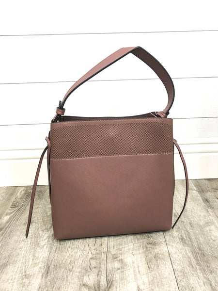 Convertible Purse with Hole Detail