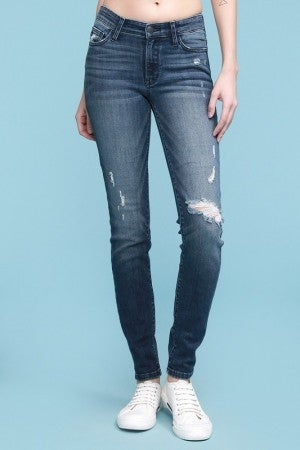 Judy Blue Mid Rise Skinny Jeans