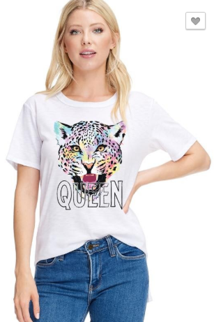 "Tiger ""Queen"" Graphic Tee"