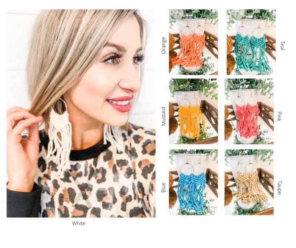 Knit Detail Earrings