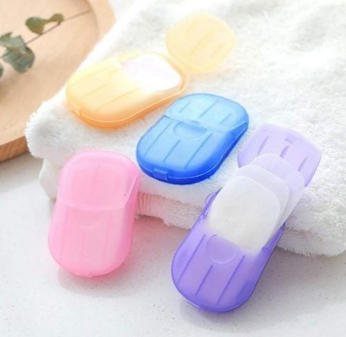 5 PACK of Paper Soaps