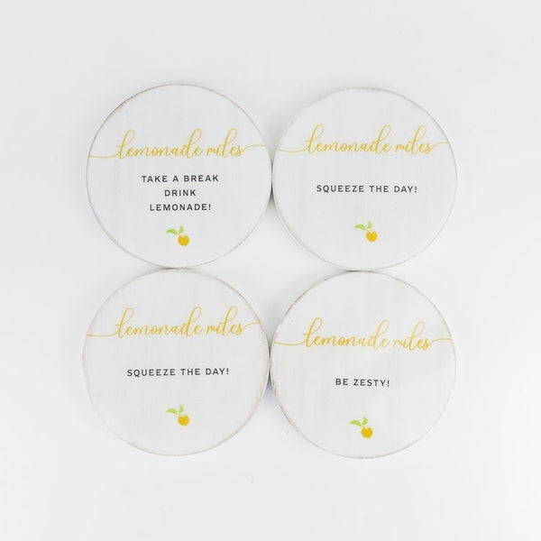 Lemonade Coasters