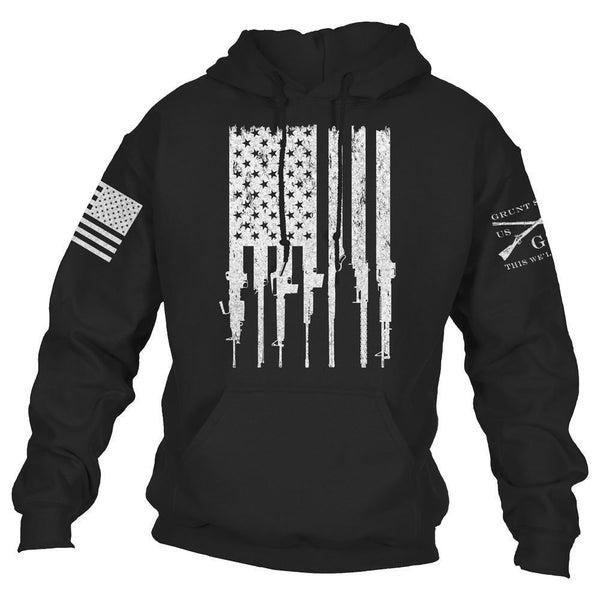 "Grunt Style ""Rifle Flag 2.0"" Hoodie"
