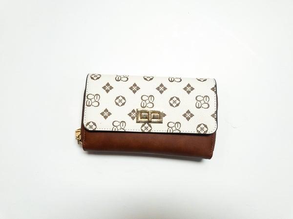 Louis Vuitton Inspired Large Flap Wallet