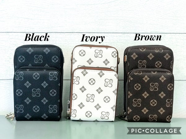 Louis Vuitton Inspired Cross Body Bag