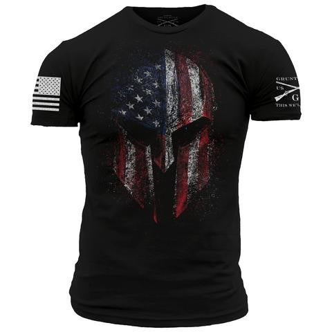 """Grunt Style """"American Spartan"""" Graphic T"""