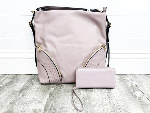 2-in-1 Double Front Corner Zipper Bag