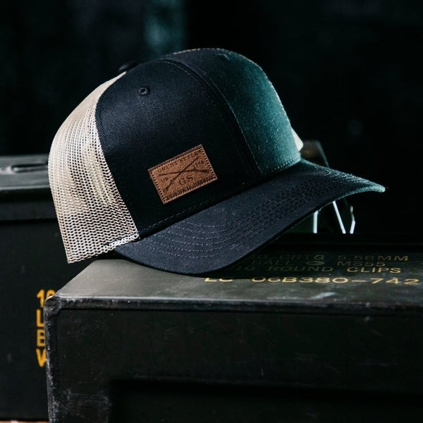 Grunt Style Logo Leather Patch Hat