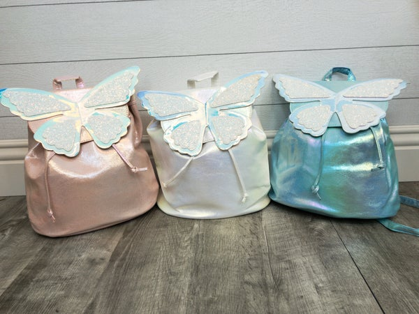 Shimmer Butterfly Backpack