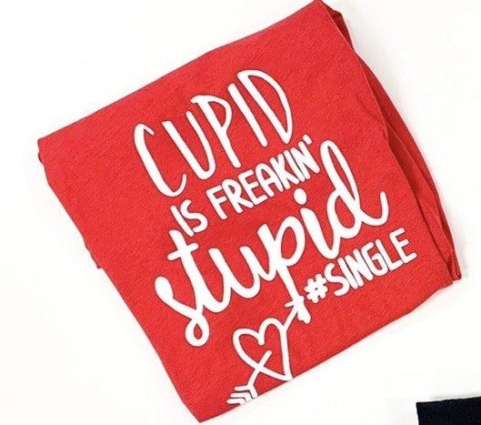 Stupid Cupid CC Bella Graphic Tee