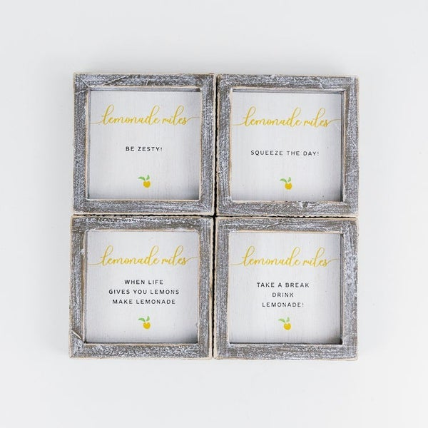 Lemonade Miles Wood Frame Set
