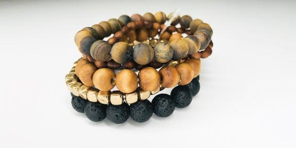 Multi Layered Beaded Bracelet